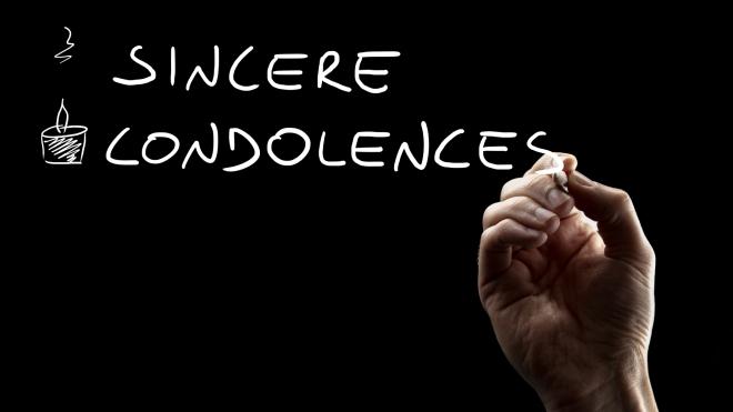 Sincere Condolences